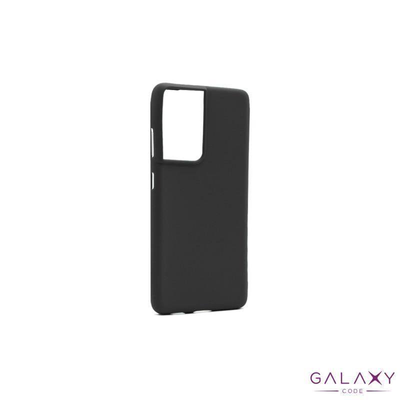 Futrola GENTLE COLOR za Samsung G998F Galaxy S30 Ultra/S21 Ultra crna