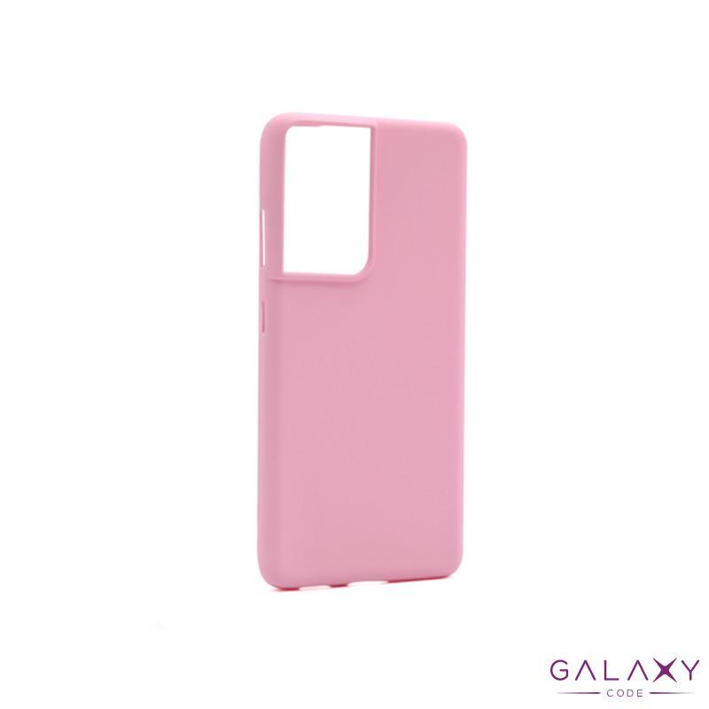 Futrola GENTLE COLOR za Samsung G998F Galaxy S30 Ultra/S21 Ultra roze