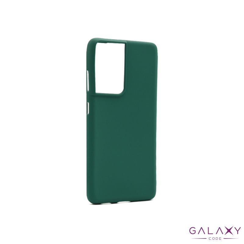 Futrola GENTLE COLOR za Samsung G998F Galaxy S30 Ultra/S21 Ultra zelena
