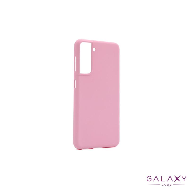 Futrola GENTLE COLOR za Samsung G991F Galaxy S30/S21 roze