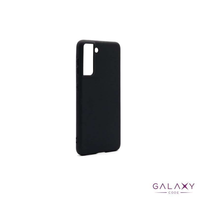 Futrola ULTRA TANKI KOLOR za Samsung G991F Galaxy S30/S21 crna