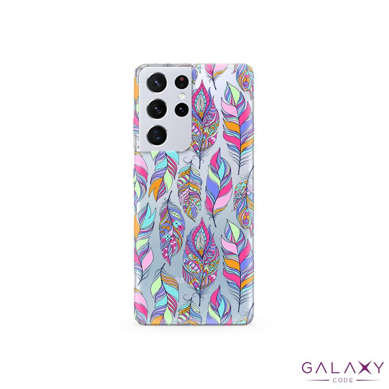 Futrola ULTRA TANKI PRINT CLEAR za Samsung G998F Galaxy S30 Ultra/S21 Ultra ND00