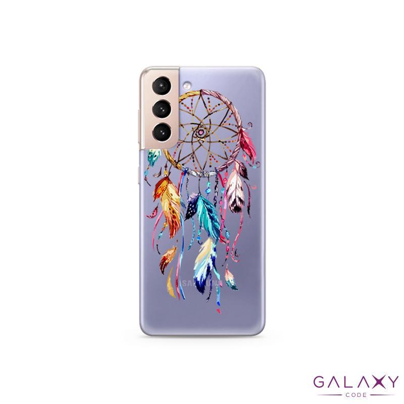 Futrola ULTRA TANKI PRINT CLEAR za Samsung G991F Galaxy S30/S21 ND0080