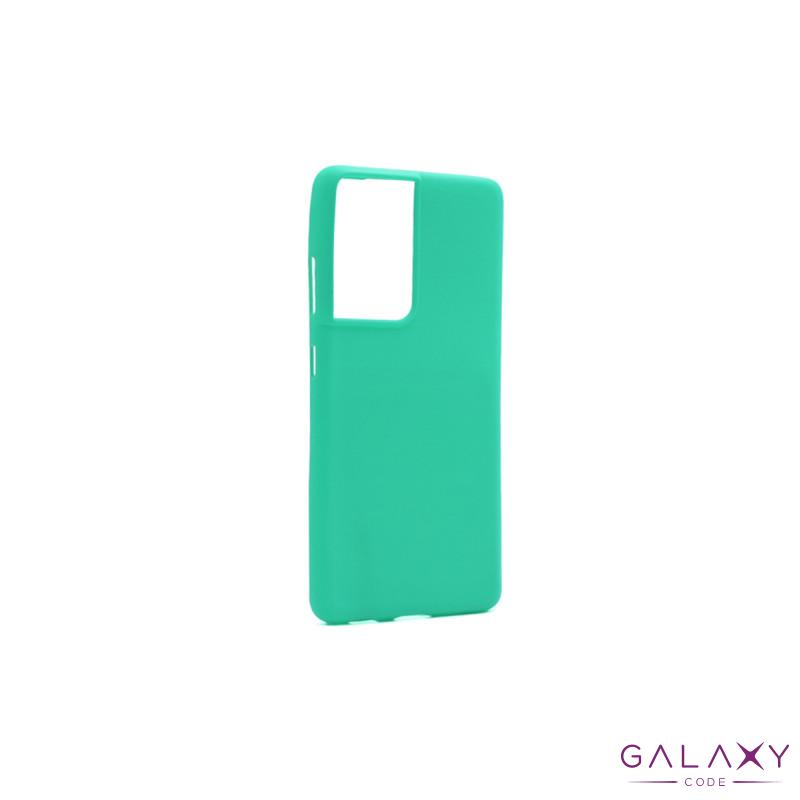 Futrola GENTLE COLOR za Samsung G998F Galaxy S30 Ultra/S21 Ultra tirkizna
