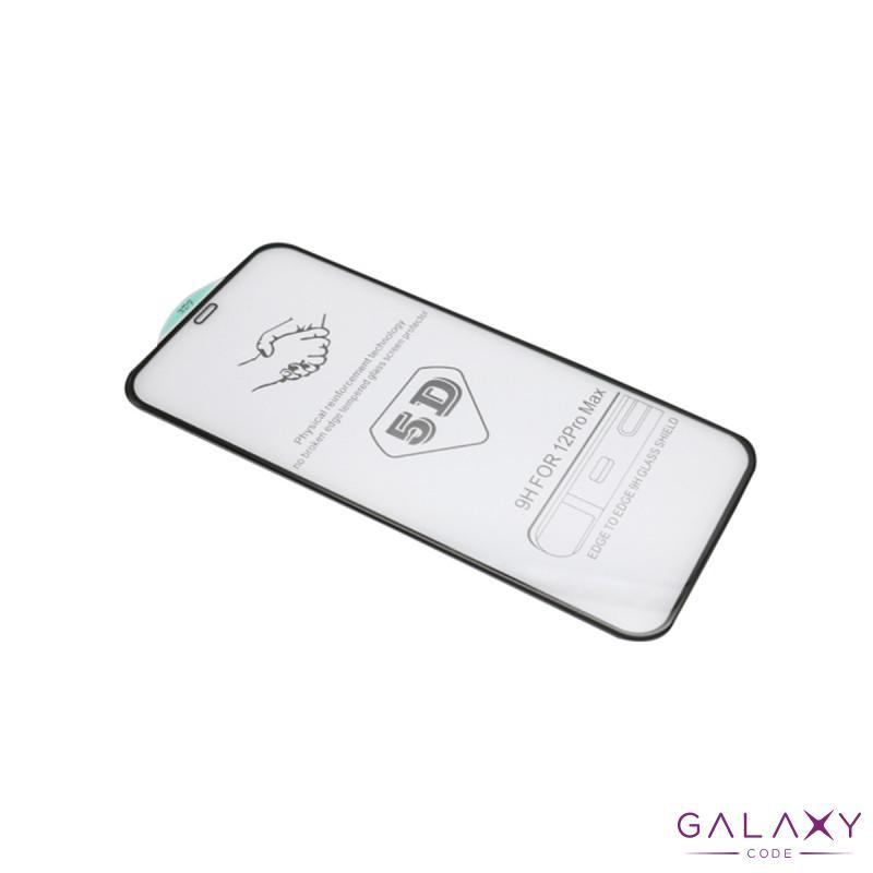 Folija za zastitu ekrana GLASS 5D za Iphone 12 Pro Max (6.7) crna