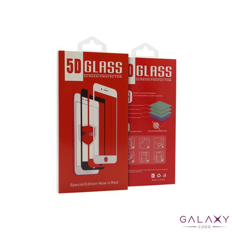 Folija za zastitu ekrana GLASS 5D za Iphone 12/12 Pro (6.1) crna