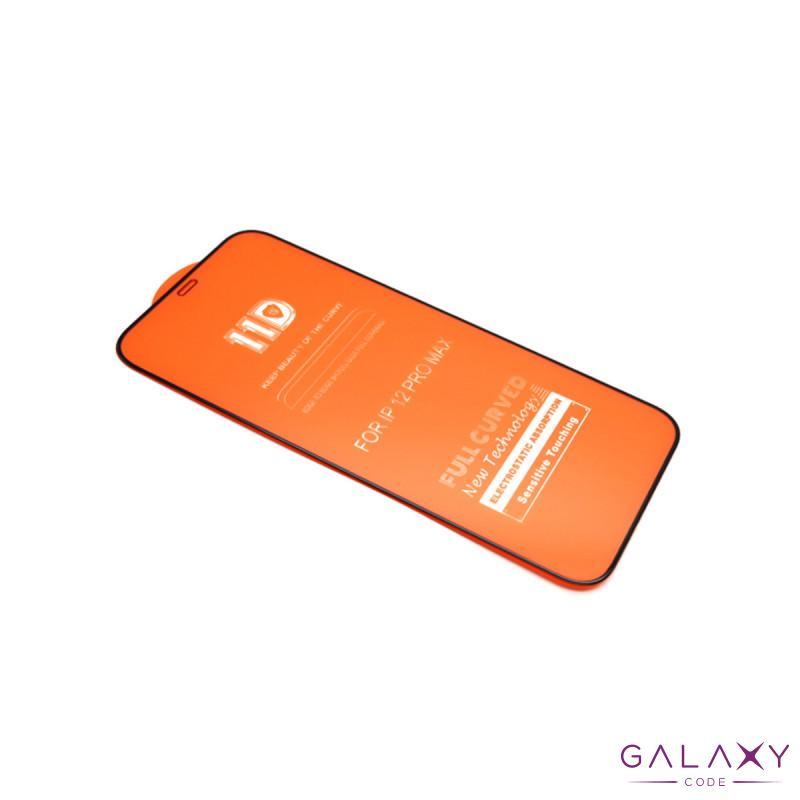 Folija za zastitu ekrana GLASS 11D za Iphone 12 Pro Max (6.7) crna