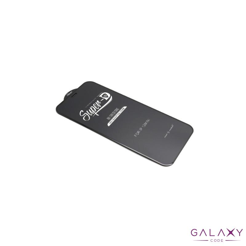 Folija za zastitu ekrana GLASS 11D za Iphone 12 Mini (5.4) SUPER D crna