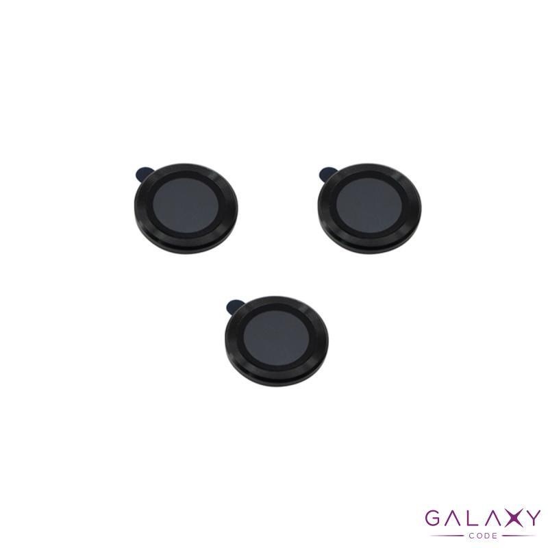 Zastita za kameru za Iphone 12 Pro (6.1) aluminijumska crna