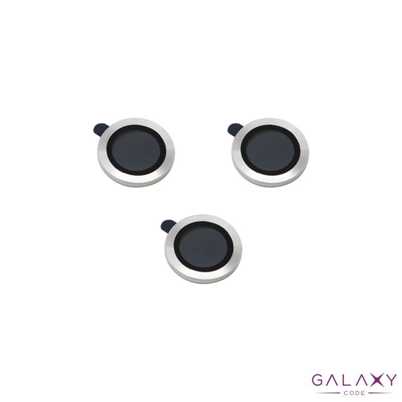 Zastita za kameru za Iphone 12 Pro Max (6.7) aluminijumska srebrna