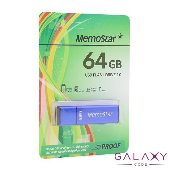 USB Flash memorija MemoStar 64GB CUBOID plava
