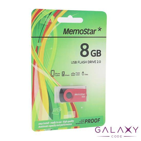 USB Flash memorija MemoStar 8GB ROTA crvena