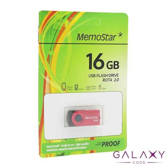 USB Flash memorija MemoStar 16GB ROTA crvena