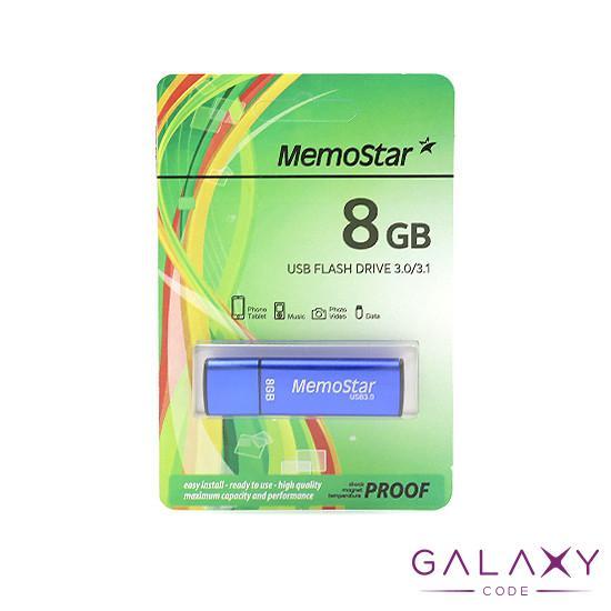USB Flash memorija MemoStar 8GB CUBOID 3.0 plava