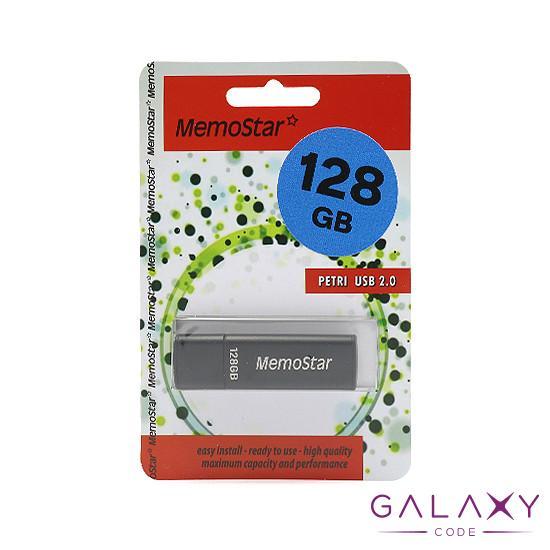 USB Flash memorija MemoStar 128GB CUBOID 2.0 crna