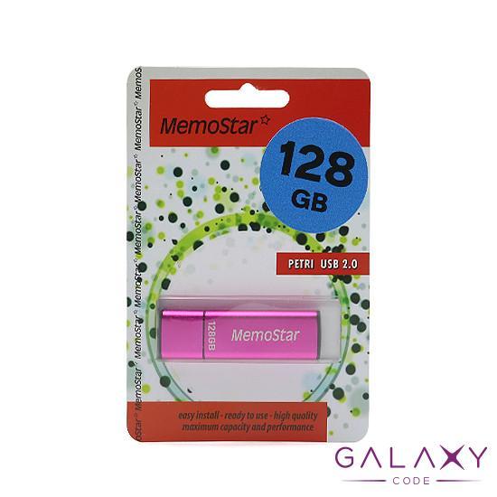 USB Flash memorija MemoStar 128GB CUBOID 2.0 pink