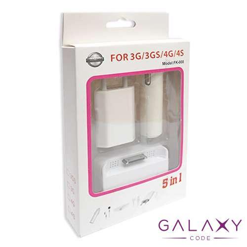 Univerzalni punjac za Iphone 4/4S 5in1