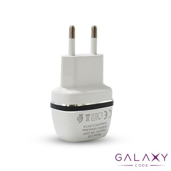Kucni punjac KONFULON C25 USB 5V/1A za Iphone lightning beli