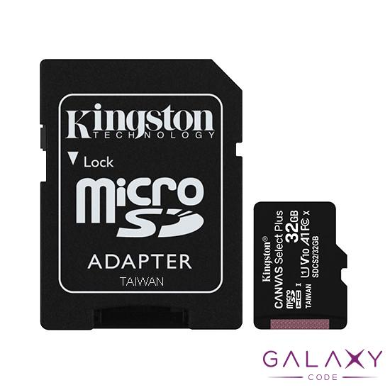 MikroSD mem.kart.32GB Kingston Select Plus klasa1