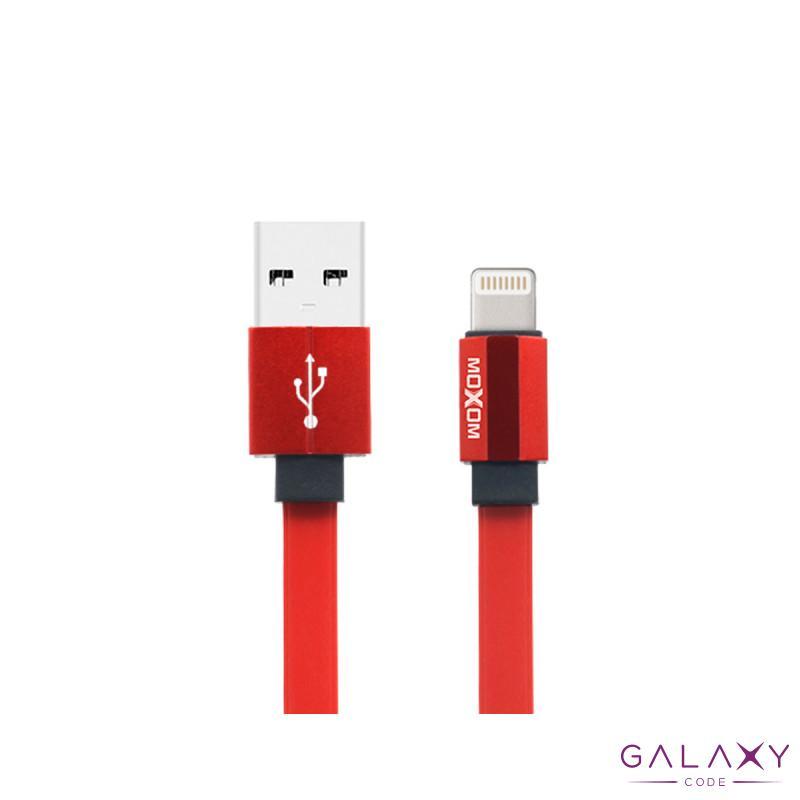 USB data kabal Moxom MX-CB11 za Iphone lightning 20cm crveni